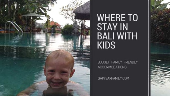 Hanging at the Gayatri Bungalows in Ubud Bali